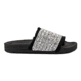 Papuci confortabili VICES negru