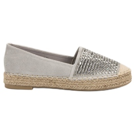 Espadrile cu VICES Ciment gri