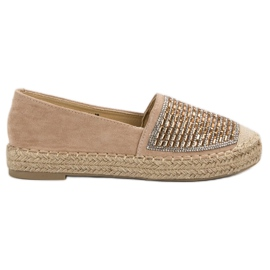 Espadrile cu VICES Ciment maro
