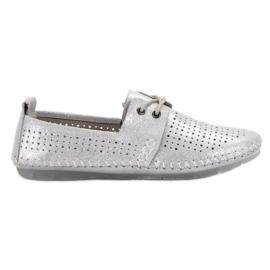 Gri Pantofi din piele VINCEZA
