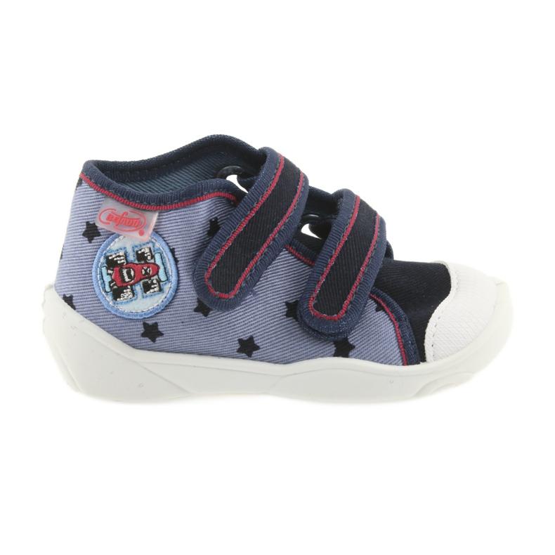 Adidași Befado încălțăminte pentru copii 212P057 roșu albastru marin albastru
