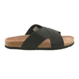 Pantofi pentru bărbați profilați Big Star 174603 negru