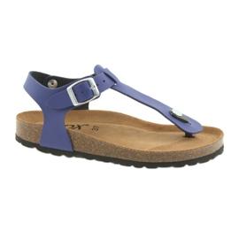 BIOX azul flip-flops albastru