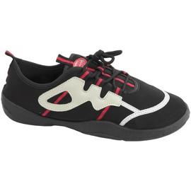 Pantofi de plajă Aqua-speed black-red 19A