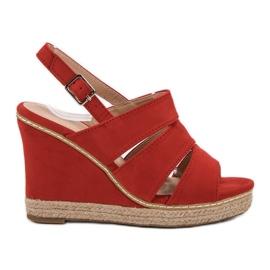 Primavera roșu Sandale roșii