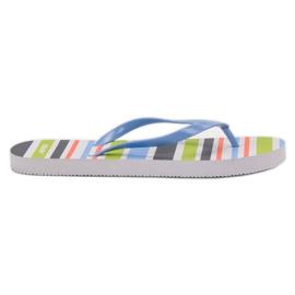 SHELOVET Lumini flip-flops albastru