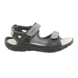 Naszbut Sandale din piele din velur 043