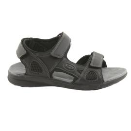 American Club American Sport Sandale pentru Tineret HL08 cz negru