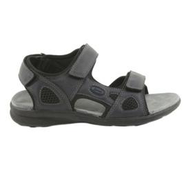 American Club American HL08 sandale pentru tineret atletic bleumarin