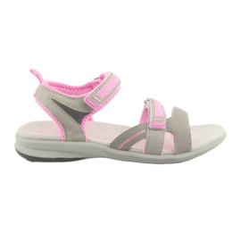 Sandale pentru fete American Club HL12 gri