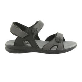 American Club American HL09 sandale sport negru / gri