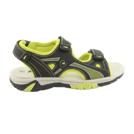 American Club RL22 sandale pentru băieți negru