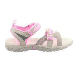 American Club Fete sandale Clubul american gri / roz