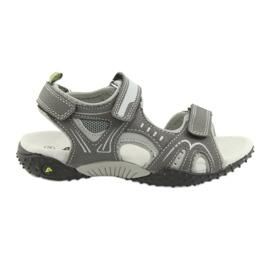 "Sandale pentru băieți ""American Club RL18 gri"