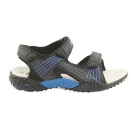 American Club HL15 sandale pentru băieți negru