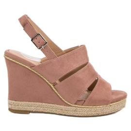 Primavera roz Pantofi din pudră