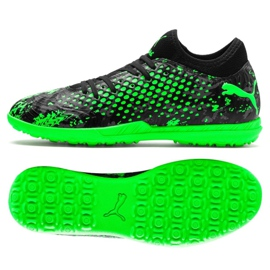 Cizme pentru fotbal Puma Future 19.4 Tt M 105548 03 negru, verde verde