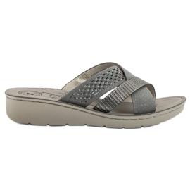Evento Pantofi confortabili gri