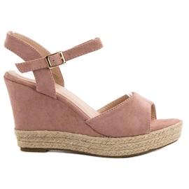 Bello Star roz Sandale Espadrilles