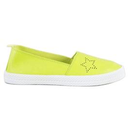 Kylie verde Alunecare pe pantofi