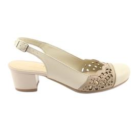Maro Gregors 771 sandale de femei bej