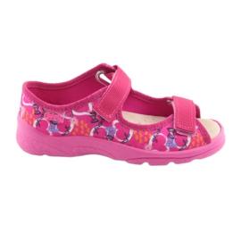 Încălțăminte pentru copii Befado 869X132 albastru galben roz