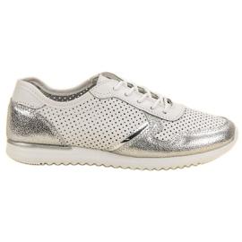 Filippo Pantofi din piele de argint
