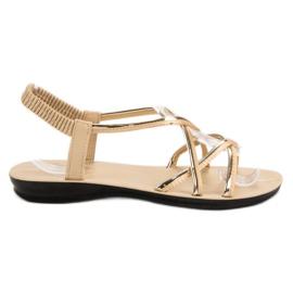 Camo maro Slip-sandale cu bandă elastică
