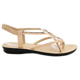 Camo maro Bej Sandale pe Sandale