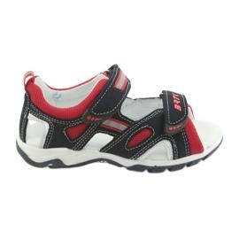 Sandale băieți 'napti Bartek 16176 marină-roșu