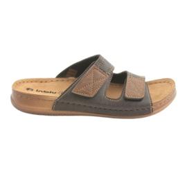 Pantofi pentru bărbați Inblu TH015 maro