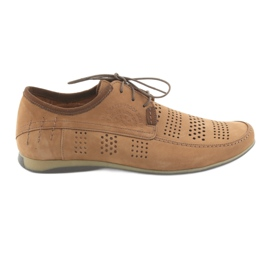 Pantofi sport bărbați Riko 694 maro deschis