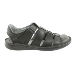 Sandale pentru bărbați Riko 619 negru