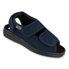 Bleumarin Befado femei pantofi pu 676D003