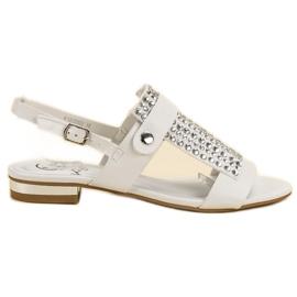 Kylie Femeile alb-sandale