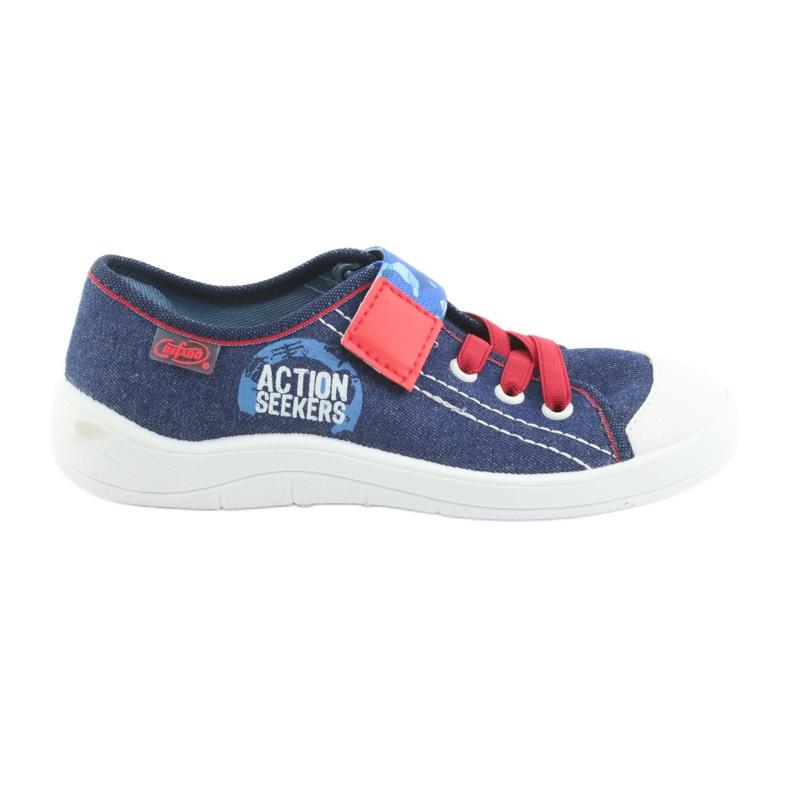 Încălțăminte pentru copii Befado 251Y101 roșu albastru marin albastru