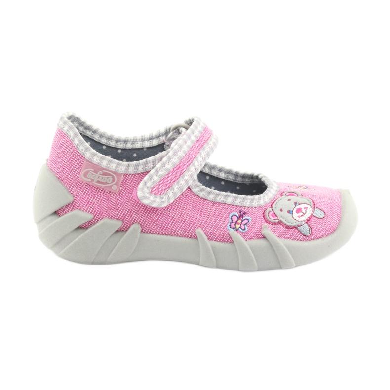 Încălțăminte pentru copii Befado 109P180 gri roz