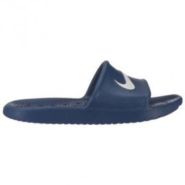 Papuci de duș de cafea Nike în BQ6831-401 bleumarin