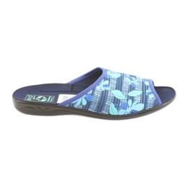 Papuci pentru femei cu flori Adanex 23863