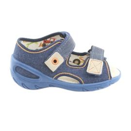 Încălțăminte pentru copii Befado pu 065P126 maro albastru marin