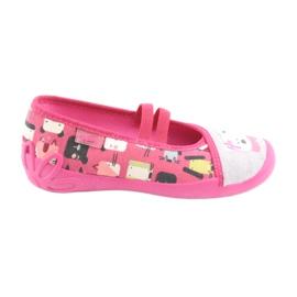 Încălțăminte pentru copii Befado 116X226 gri roz