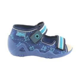 Încălțăminte pentru copii Befado 350P004 albastru verde albastru marin