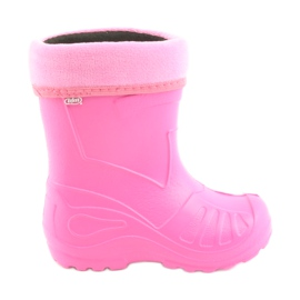 Pantofi pentru copii Befado galosh roz 162