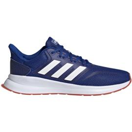 Albastru Pantofi de alergare adidas Runfalcon M EF0150