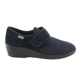 Bleumarin Befado femei pantofi pu 033D001