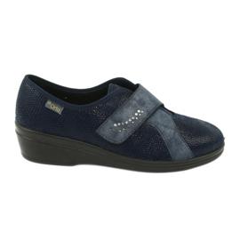 Befado pantofi femei pu 032D001 albastru