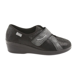 Negru Befado femei pantofi pu 032D002