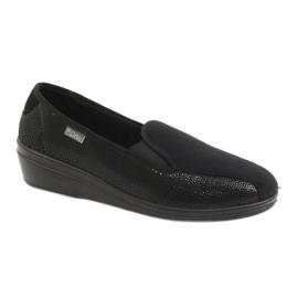 Negru Befado femei pantofi pu 034D002