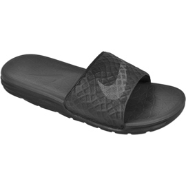 Negru Papuci Nike Sportswear Solarsoft Benassi M 705474-091