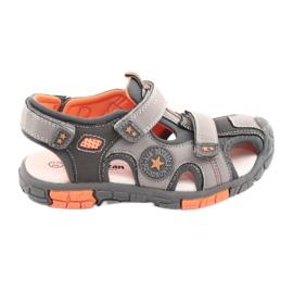 American Club Pantofi pentru sandale cu inserție din piele americană DR02